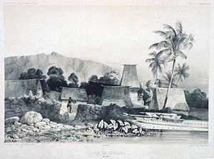 Fiji during the time of Cakobau - Levuka, 1842