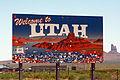 Utah Sign during RAAM 2015 by D Ramey Logan.jpg