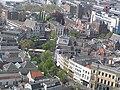 Utrecht - deel Oudegracht vanaf Domtoren gezien.jpg