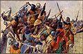 Věnceslav Černý - Čechové dobyli Říma roku 1083.jpg