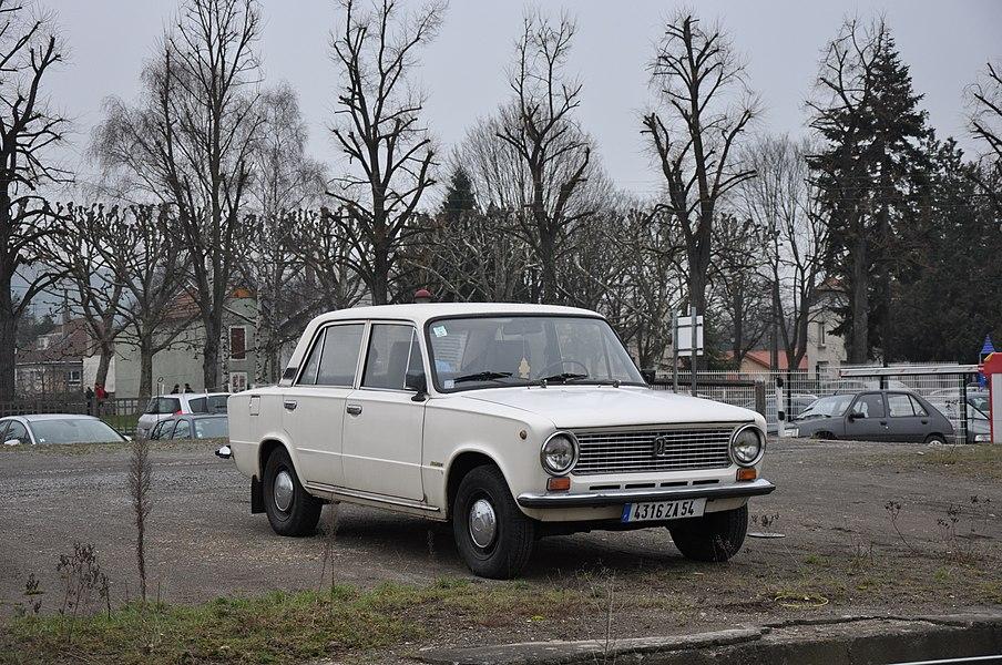 VAZ 2101, Pont-à-Mousson, Lorraine, France