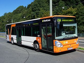 Irisbus Citelis - Citelis bus in Germany's Ruhr area