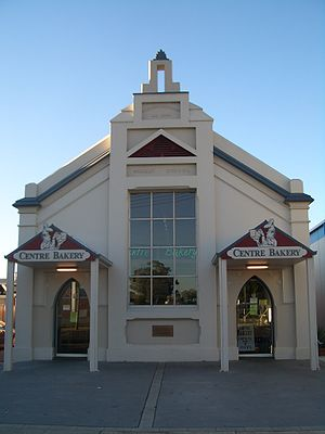 Sale, Victoria - Former Wesleyan Methodist Church (now, a bakery)