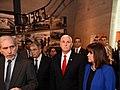 VP Mike Pence visits Yad Vashem Holocaust Museum (25989439988).jpg