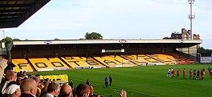 Vale Park - The Away Stand.