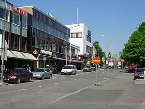 Sastamala - Image: Vammala, Onkiniemenkatu