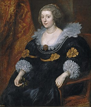 Amalia of Solms-Braunfels - Amalia of Solms-Braunfels, portrait by Anthony Van Dyck