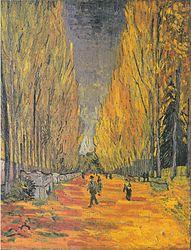 Vincent van Gogh: Les Alyscamps