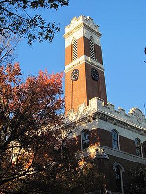 Vanderbilt University College of Arts and Science - Kirkland Hall, Vanderbilt University