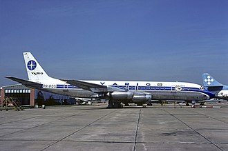Varig - One of the DC-8-33 inherited from Panair do Brasil