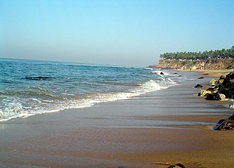 Varkala - Varkala beach
