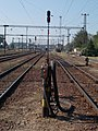 Vasútállomás, kilátás a délnyugati peronvég felől, 2018 Dombóvár.jpg