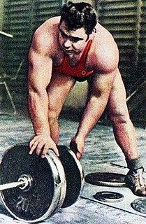 Vasily Alekseyev Soviet weightlifter