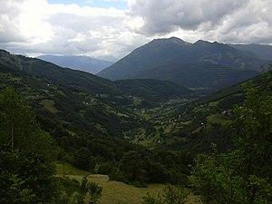 Battle of Novšiće - View of Velika in 2012