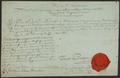 Venäläisten joukkojen ylipäällikön kreivi von Buxhoevdenin paroni C.E. Mannerheimille 14.9.1808 myöntämä passi merkintöineen..png