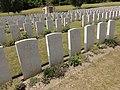Vendresse-Beaulne (Aisne) CWGC Vendresse British cemetery (03).JPG