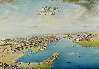 Siege of Viborg (1710) - Vyborg in the late 1700s, after being refortified by the Russians