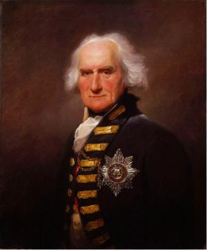 John Colpoys - Vice Admiral John Griffith Colpoys, Royal Navy
