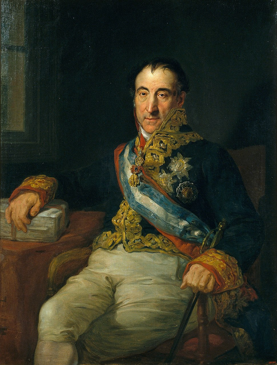 Vicente López Portaña - Portrait of the Marquis of Labrador, Spanish Ambassador to the Congress of Vienna of 1815 - Google Art Project