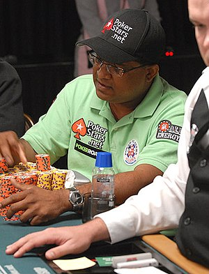 Victor Ramdin - Ramdin in the 2008 World Series of Poker