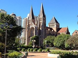 St John's Cathedral (Brisbane) - Image: View St John's Cathedral, Brisbane 052013