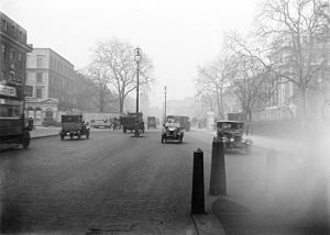 Euston Road - View of Euston Road in the early 20th century