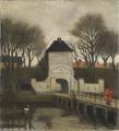 View of Kastellet , Copenhagen (Johan Rohde) - Nationalmuseum - 19757.tif