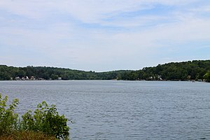 Lemon Township, Wyoming County, Pennsylvania - Lake Carey in Lemon Township