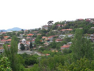 Prodromos, Cyprus - A view of the village in January 2015