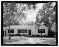 View of West front, facing east - 1727 North Shore Terrace (House), 1727 North Shore Terrace, Orlando, Orange County, FL HABS FL-533-1.tif