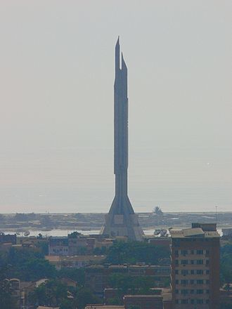 Angola - Monument to the memory of Agostinho Neto and Angolan independence, in Luanda