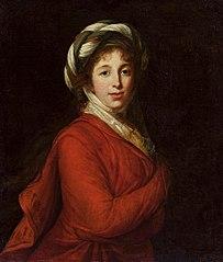 Portrait of Helena Radziwiłł née Przeździecka.