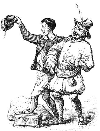 The Emperor's New Clothes - Vilhelm Pedersen illustration