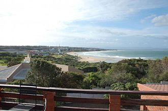 Jeffreys Bay - Image: Villa African Queen Jeffreys Bay Beach View