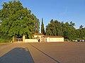 Villa Magnani - ingresso pedonale del parco 2017-06-11.jpg