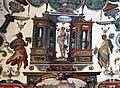 Villa medici, studiolo del cardinale, grottesche volta 05,1 tempio di venere.jpg