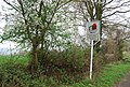 Village Sign entering Wateringbury, Wateringbury Rd - geograph.org.uk - 1266579.jpg