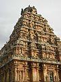 Vimana from one side, Airavatesvara Temple, Dharasuram.jpg