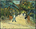 Vincent van Gogh - Entrance to the Public Gardens in Arle - Google Art Project.jpg