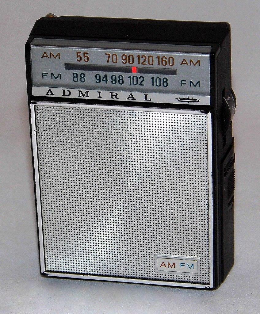 File Vintage Admiral Transistor Radio  Model Yk381gp  Chassis 12g2  Am