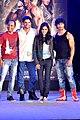 Vipul Shah, Jaideep Ahlawat, Pooja Chopra, Vidyut Jamwal at 'Commando' launch.jpg