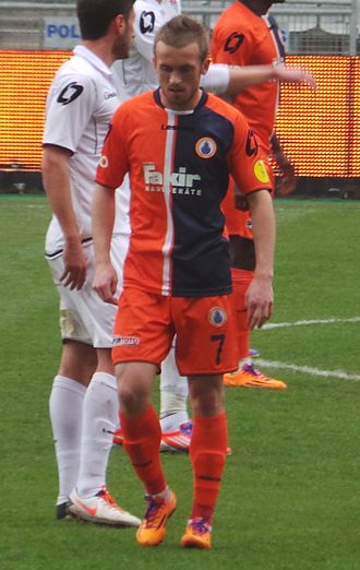 Edin Višća - Višća playing for İstanbul Başakşehir in 2014