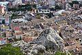 Vista del carrer Major de Castalla des de la torre Grossa del castell.jpg