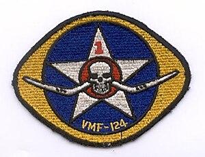 VMA-124 - Squadron logo from World War II