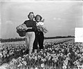 Voorjaarsplaatjes meisjes op Narcissenveld, Bestanddeelnr 905-6424.jpg