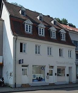 Vorstadtstraße in Saarbrücken