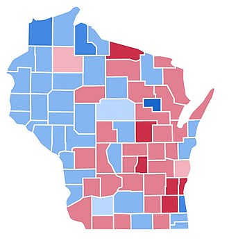 1988 United States presidential election in Wisconsin - Image: WI1988