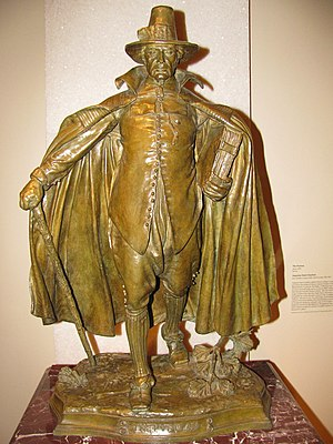 The Puritan (Springfield, Massachusetts) - Image: WLA amart The Puritan ca 1899 Augustus Saint Gaudens