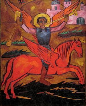 WLA lacma Archangel Michael