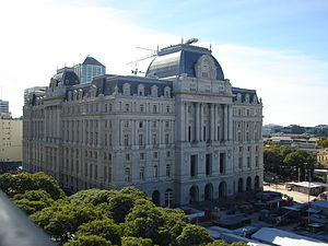 Buenos Aires Central Post Office - The palace in 2013.